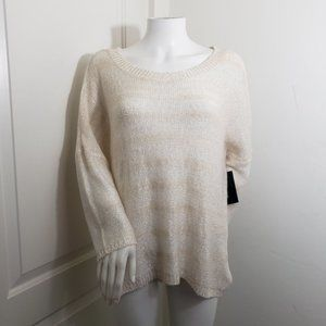 NWT a.n.a XL sequence high low sweater